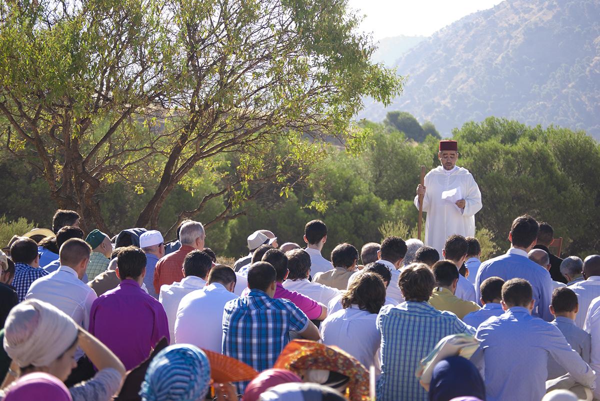 Descripción de la oración del Eid