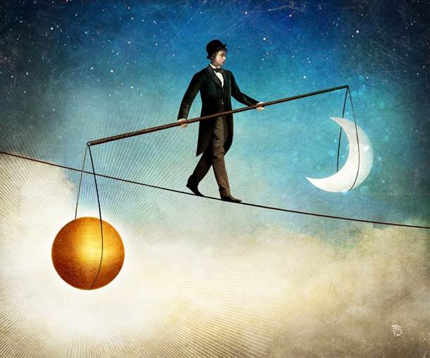 Una de las claves del éxito es esta vida y en la otra es llevar una vida equilibrada