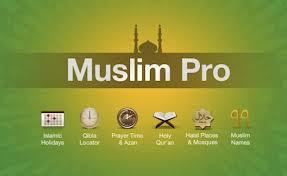 Aplicaciones para musulmanes: muslim pro