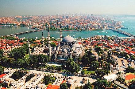 El complejo de la mezquita Suleimaniye, en Estambul, es un ejemplo de un Waqf, una sadaqa entregada a perpetuidad