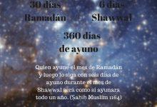 Ayunar seis días en el mes de Shawal es equivalente a ayunar un año